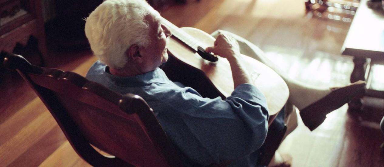 Centenário do compositor, morto em 2008, é lembrado em discos, livros, shows, exposição e missa Foto: Leonardo Aversa/Arquivo
