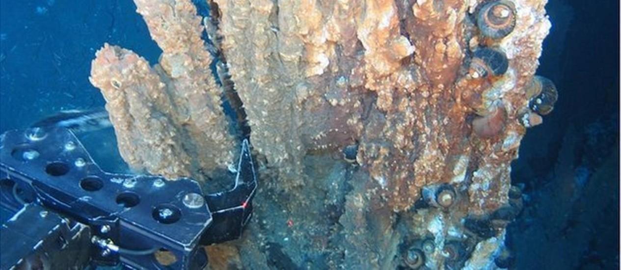 Extração. A empresa Nautilus Minerals faz acordo com Papua Nova Guiné para começar mineração em águas profundas. Foto: Reprodução/Nautilus
