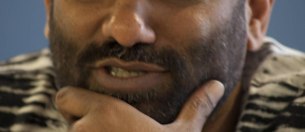 Kumi Naidoo, diretor-executivo do Greenpeace: quer mobilizar pessoas para acabar com o ciclo de consumo desenfreado Foto: Masi Torres / Masi Torres/Greenpeace