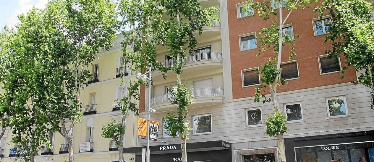 Salamanca. Bairro nobre de Madri, famoso por suas lojas de luxo, tem hoje apartamentos de três quartos por cerca de R$ 1 milhão Foto: Arquivo