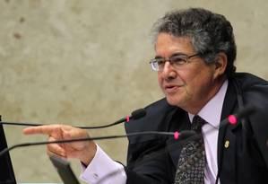O ministro do STF, Marco Aurélio Mello Foto: Arquivo O Globo / Givaldo Barbosa