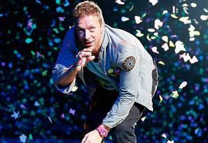Crhis Martin, do Coldplay Foto: Reuters