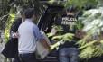Policia Federal apreende computadores e documentos no sítio do coronel reformado Paulo Malhães, morto durante assalto
