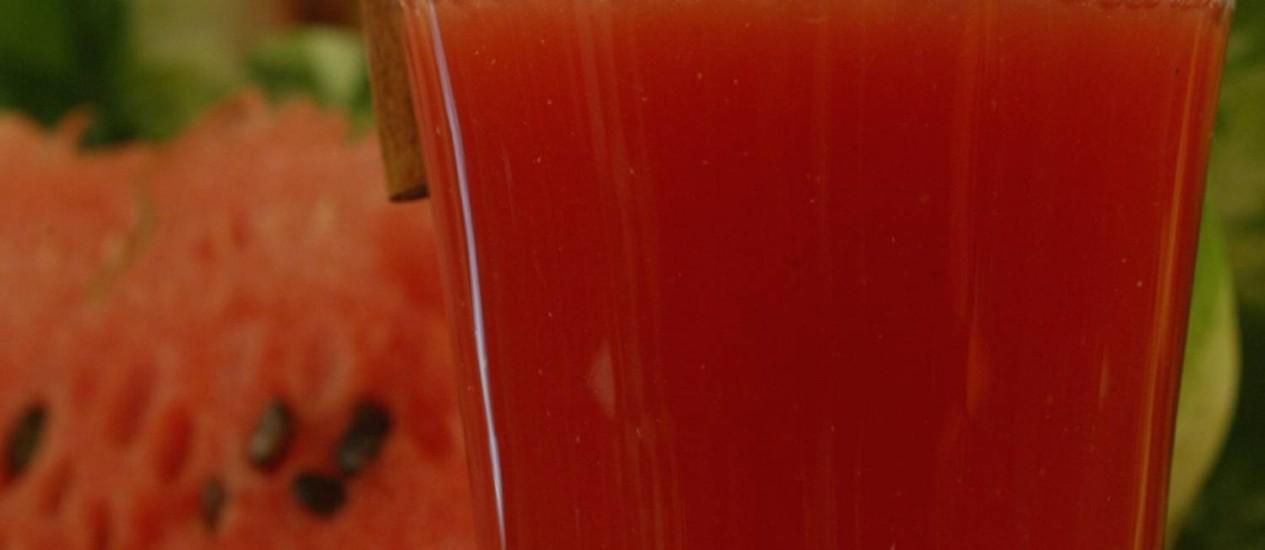 suco de melancia é o novo viagra jornal o globo