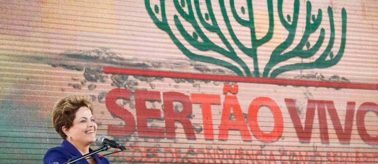Dilma fez discurso em tom eleitoral na Bahia - Foto: Divulgação