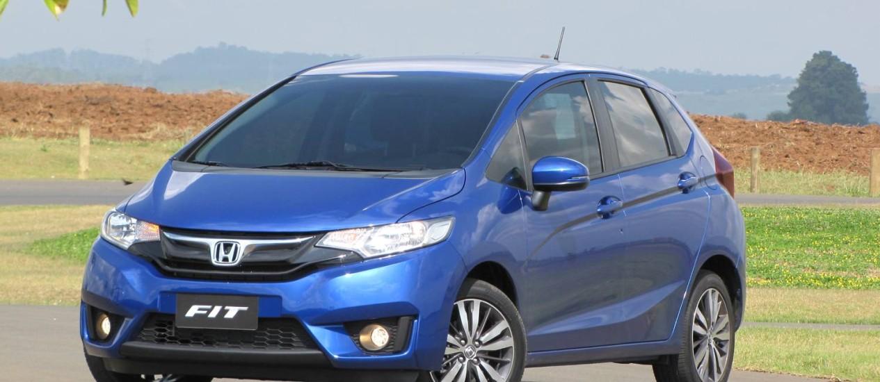 O novo Honda Fit cresceu quase 10cm no comprimento. Os passageiros agradecem Foto: Marcelo Cosentino / Marcelo Cosentino