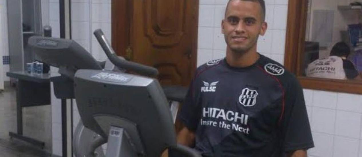 Rodolfo realiza exames no Moisés Lucarelli Foto: Divulgação