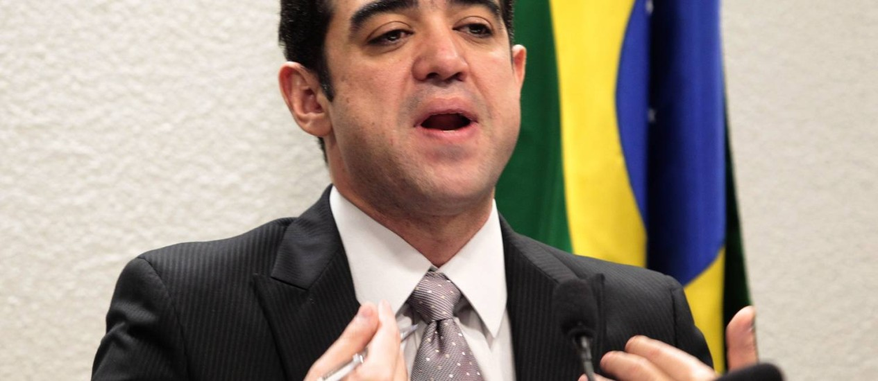 Bruno Dantas é afilhado político de Renan Calheiros e José Sarney Foto: Jorge William / Agência O Globo