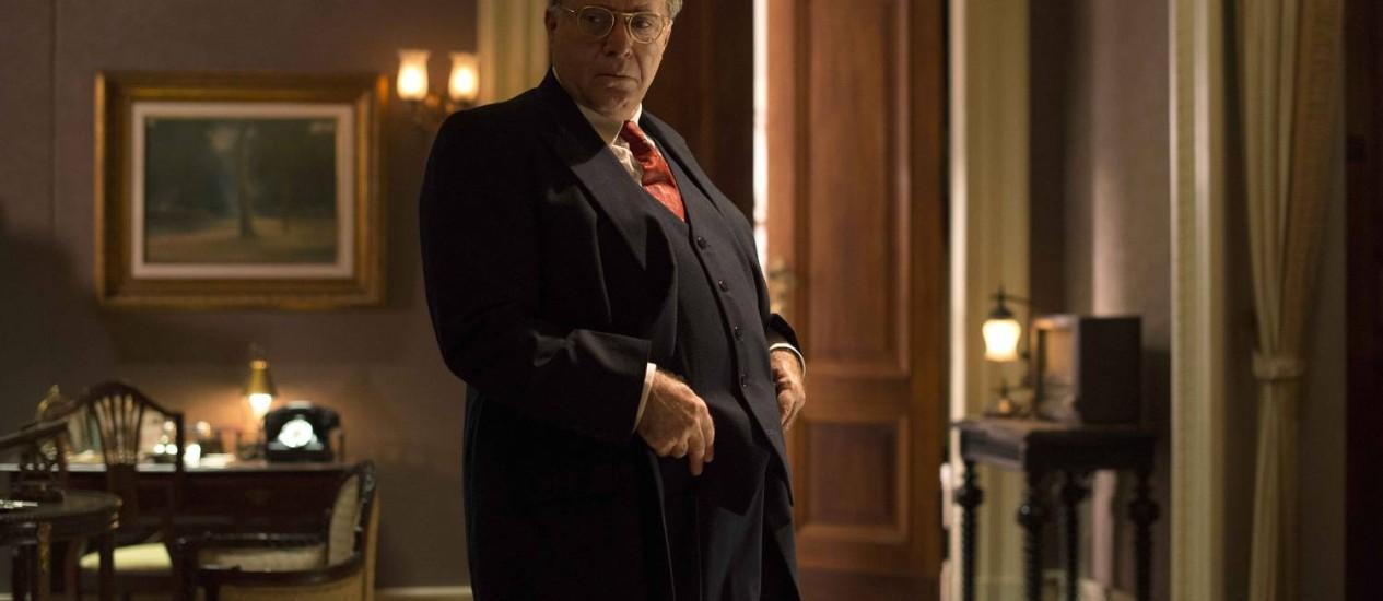 Tony Ramos como Getúlio Vargas: o presidente que, acuado no Palácio do Catete, se suicidou Foto: Divulgação/Ana Stewart