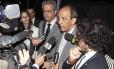 Deputados afirmam que encontraram o ex-ministro assistindo ao jogo entre Real Madrid e Bayer em TV de plasma