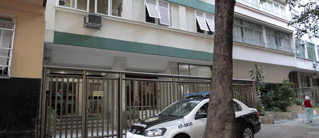 Apartamento de classe média alta em Copacabana vira ponto de venda de drogas do Morro Pavão-Pavãozinho Foto: Marcelo Piu / Agência O Globo