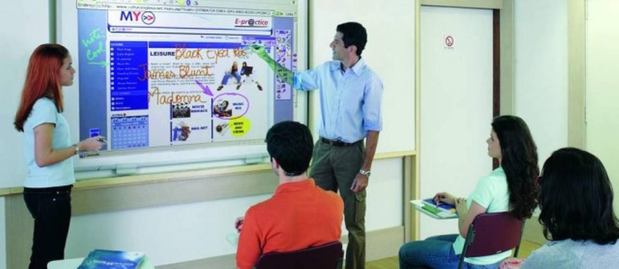 Cenário positivo para professores de inglês e outros idiomas Foto: Divulgação