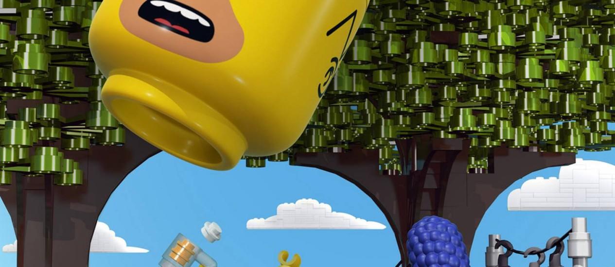 Poster do episódio Lego de 'Os Simpsons' Foto: Divulgação
