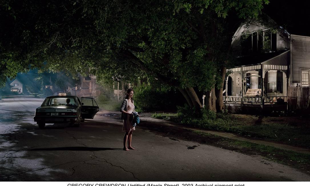 As fotos de Crewdson são atraentes e perturbadoras ao mesmo tempo Foto: Robert Crewdson / Divulgação