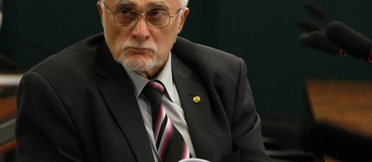 José Genoino, um dos condenados no processo do mensalão Foto: Ailton de Freita / Arquivo O Glob