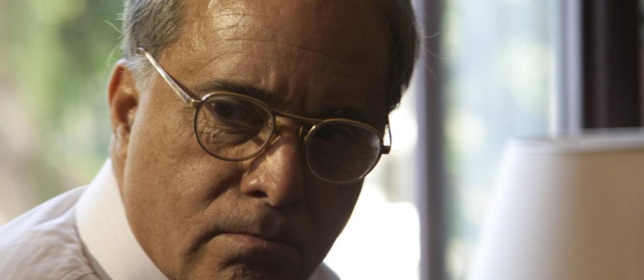 Tony Ramos no papel do presidente. Longos silêncios expressam a depressão de Vargas, uma das mais complexas figuras da História do país Foto: Divulgação / Bruno Veiga