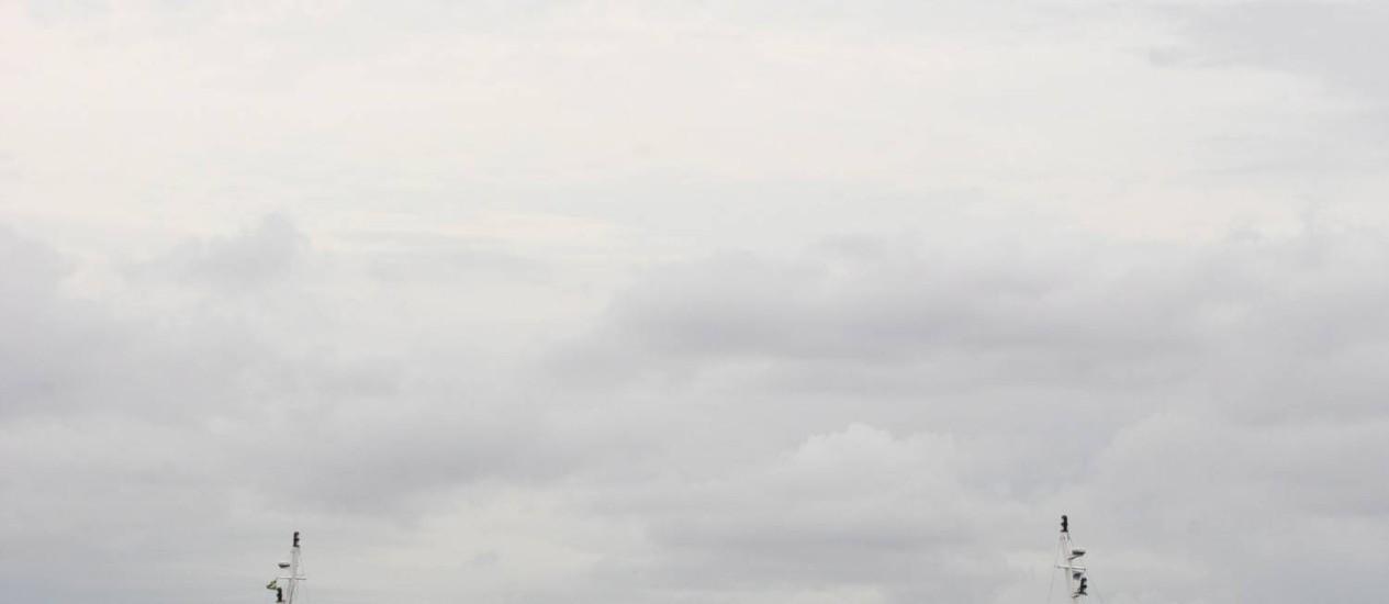 O catamarã Ingá II: acidente em 2010 gerou multa de quase R$ 350 mil para a CCR Barcas Foto: Fábio Guimarães / Agência O Globo