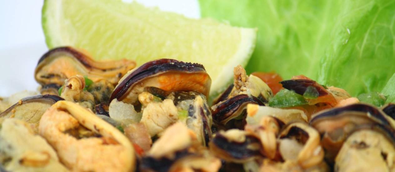 Serão montadas 13 barracas para venda dos pratos com mariscos, que vão custar R$15 Foto: Acervo O Globo