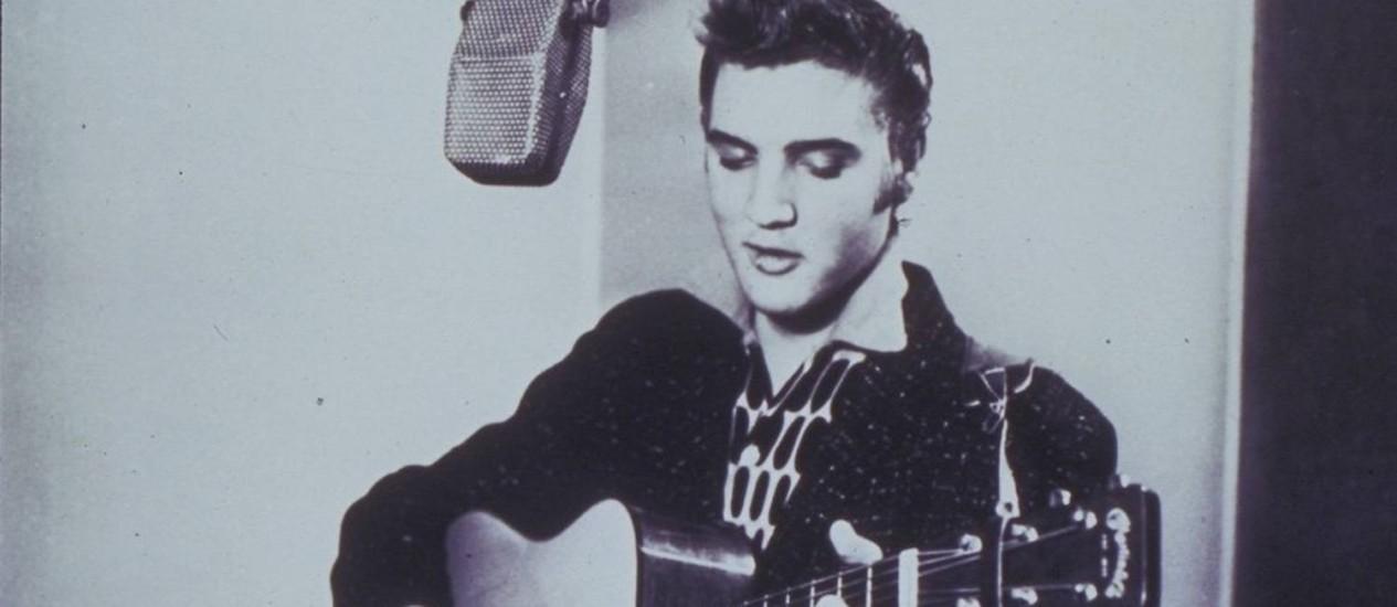 Elvis Presley: proposta é que ele volta ao cinema, mas agora como pergonagem Foto: Reprodução
