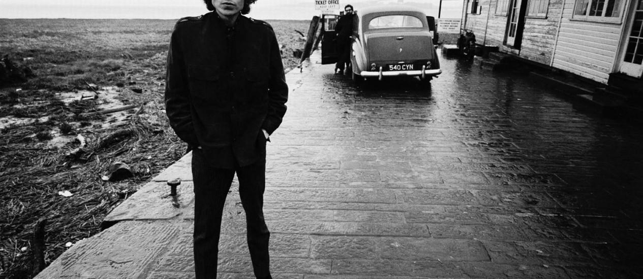 Bob Dylan, por volta de 1965, quando 'Like a Rolling Stone' foi lançada Foto: Divulgação