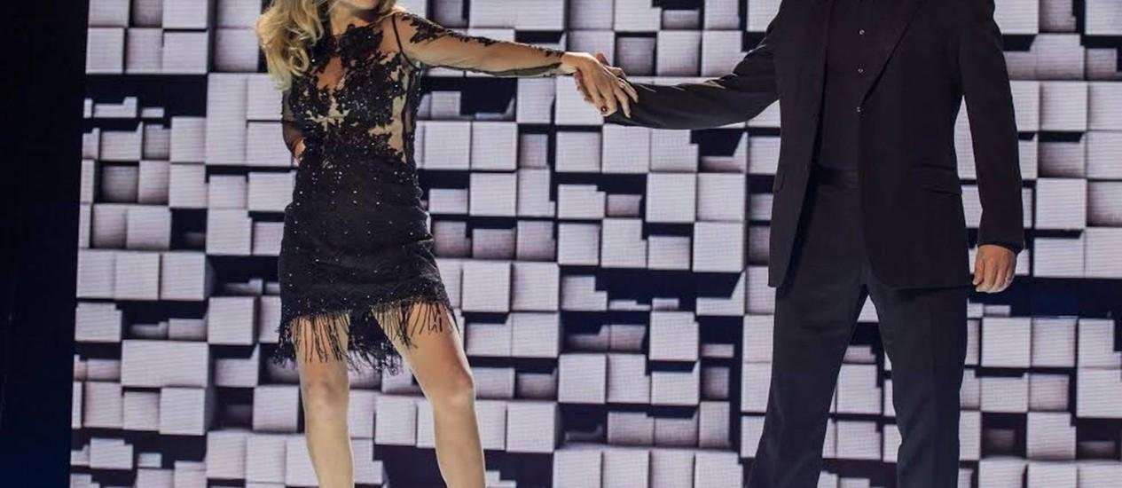 Claudia Abreu e Murilo Benicio são o casal Parker-Marra na novela que estreia hoje Foto: TV Globo/Paulo Belote