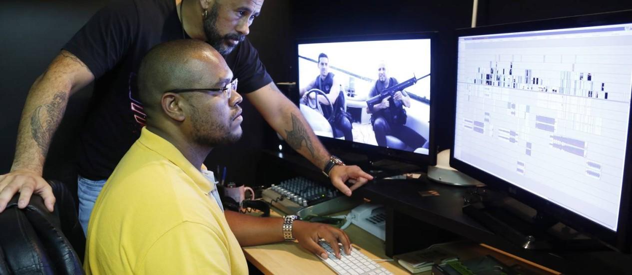 José Junior na sede da produtora do Afroreggae, na Lapa Foto: Simone Marinho