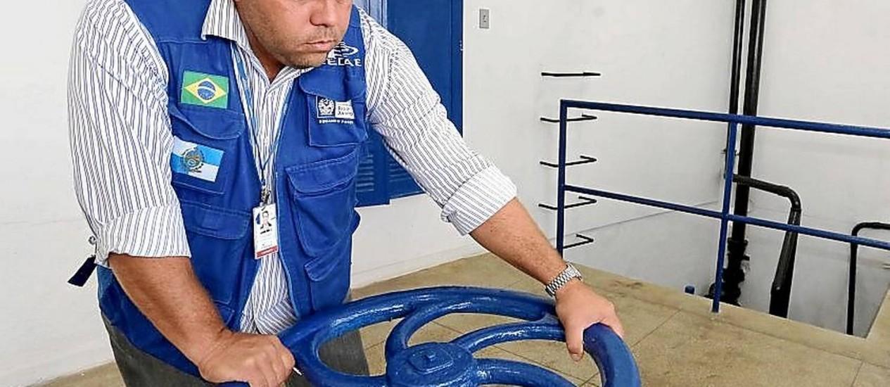 Capacidade. O reservatório armazena até cinco milhões de litros de água Foto: Divulgação/ Carlos Magno / Divulgação/Carlos Magno