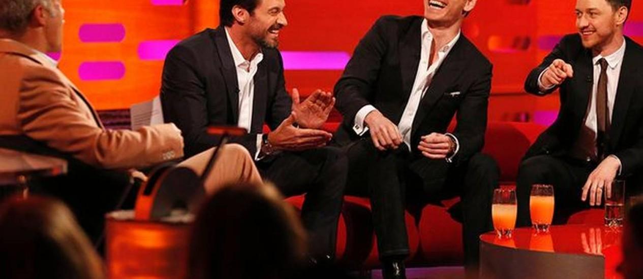 Em programa na TV inglesa, Hugh Jackman conta acidente sofrido com garras do Wolverine Foto: Divulgação