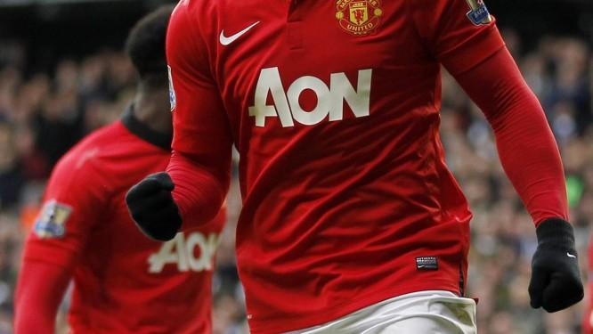Wayne Rooney não preocupa para a Copa Foto: AFP/IAN KINGTON