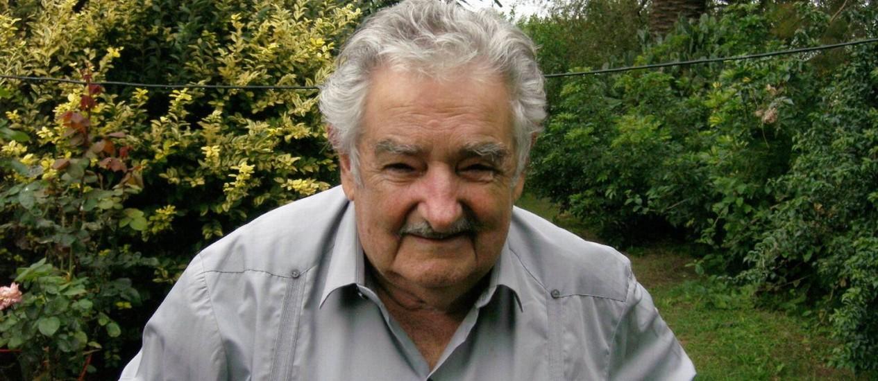 O presidente do Uruguai, José Mujica Foto: Sergio Flaksman / Agência O Globo