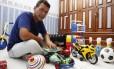 Gino Fonseca realizou o sonho de adotar um filho