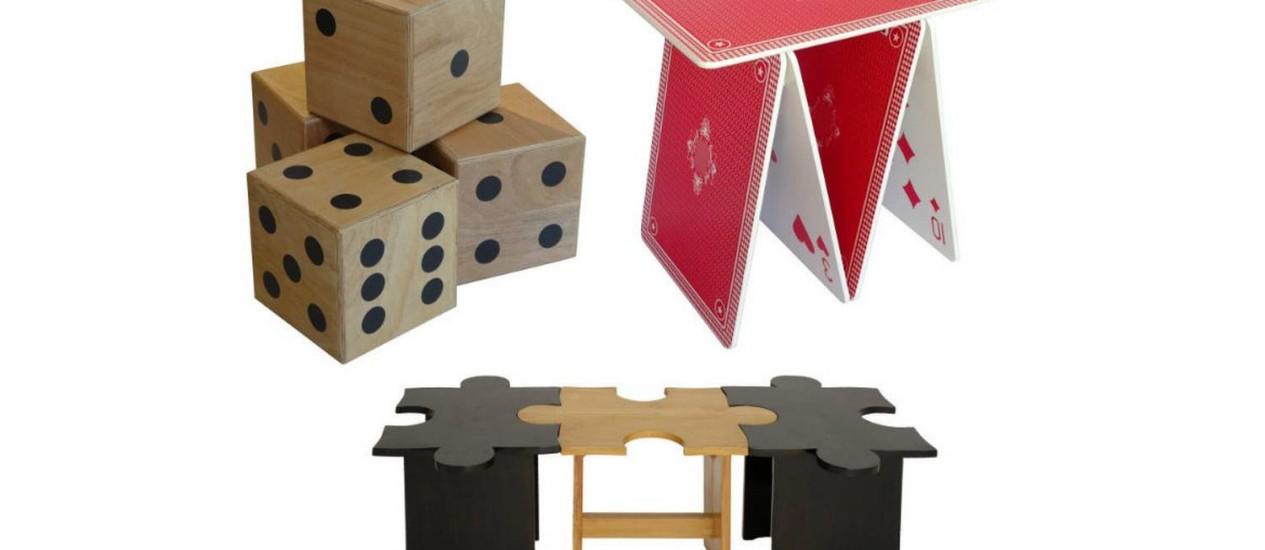 Dado, baralho ou quebra-cabeça para a decorar a casa? Foto: Divulgação
