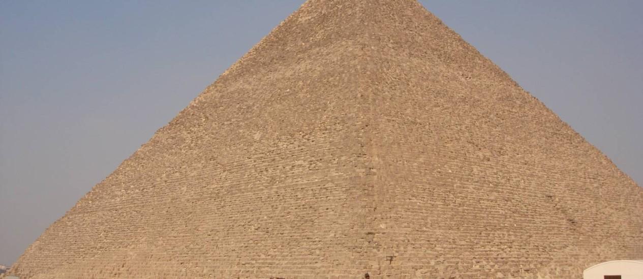 Pirâmides existem há milhares de anos, mas 'enigma' só foi desvendado agora; estudo foi conduzido pela Universidade de Amsterdã. Foto: Laura Antunes / Agência O Globo