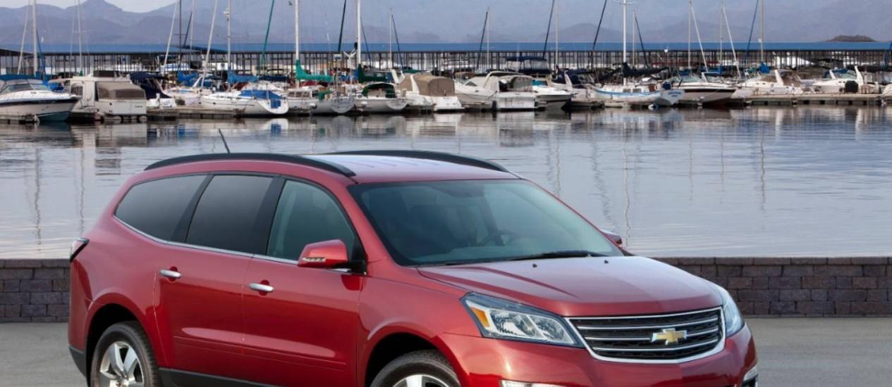 Chevrolet Traverse é um dos modelos afetados pela nova convocação Foto: Divulgação / GM