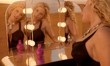 Britney Spears no clipe de 'Work bitch' Foto: Reprodução
