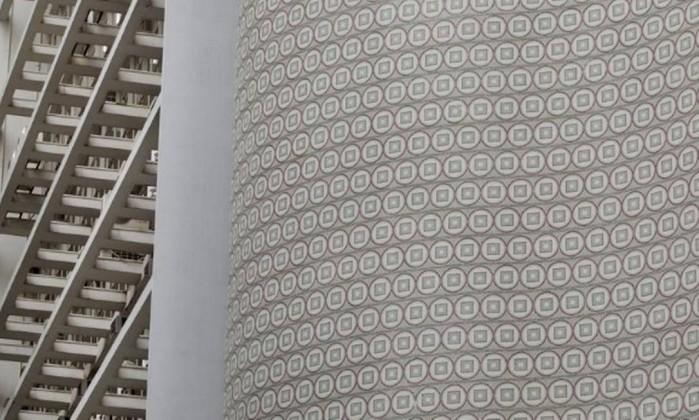 A fachada do Edifício Seguradoras, na Senador Dantas: um dos muitos exemplares da obra dos Robertos Foto: Márica Foletto / Agência O Globo