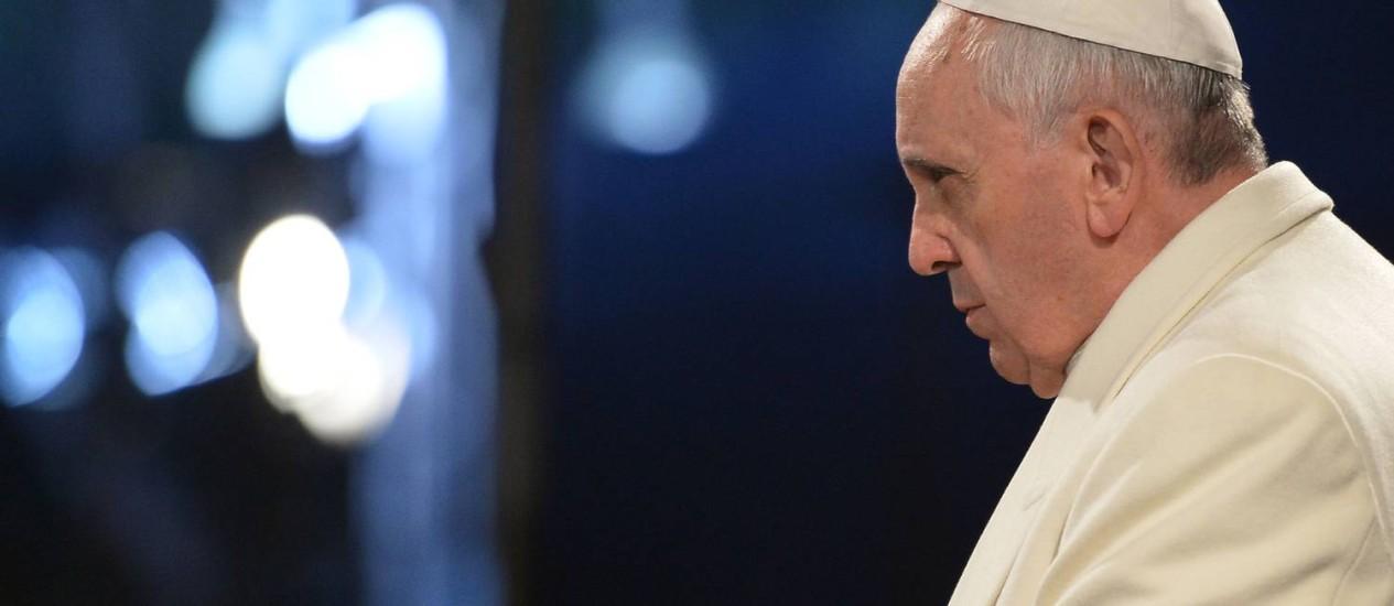 Papa disse que situação na Ucrânia é grave Foto: ALBERTO PIZZOLI / AFP