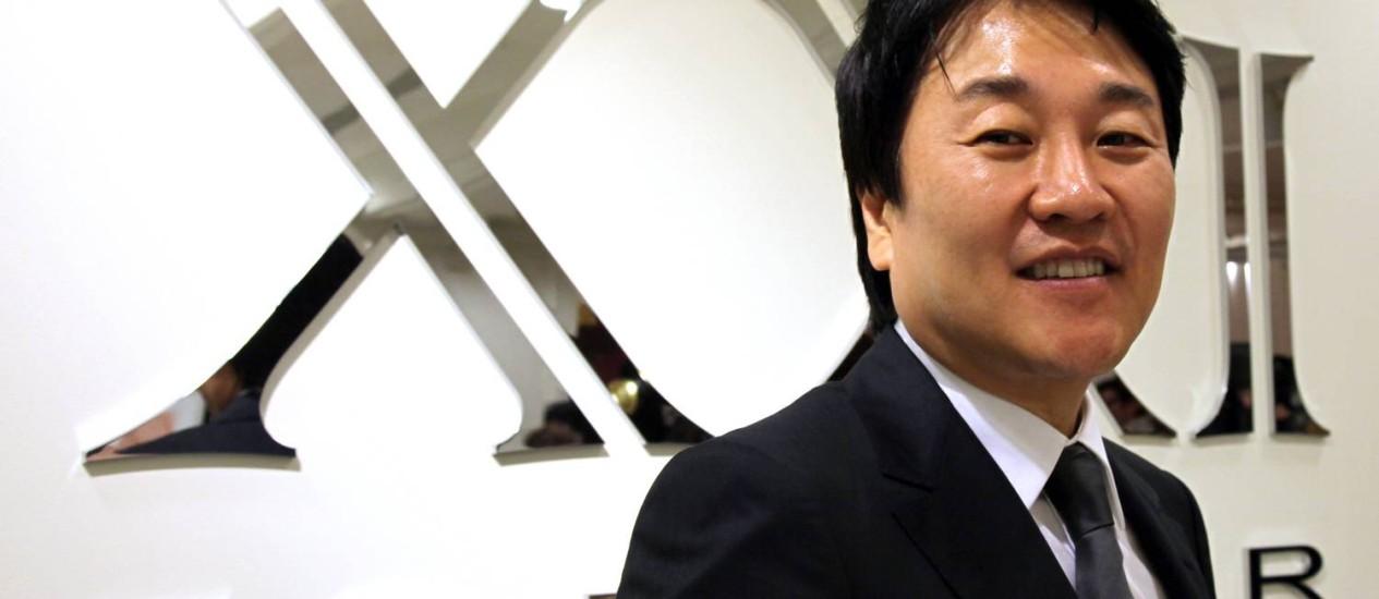 Na pista pra negócio: animado com resultados no Brasil, Do Won Chang abrirá mais 5 lojas Foto: Toshiyuki Aizawa/Bloomberg/28-4-2010