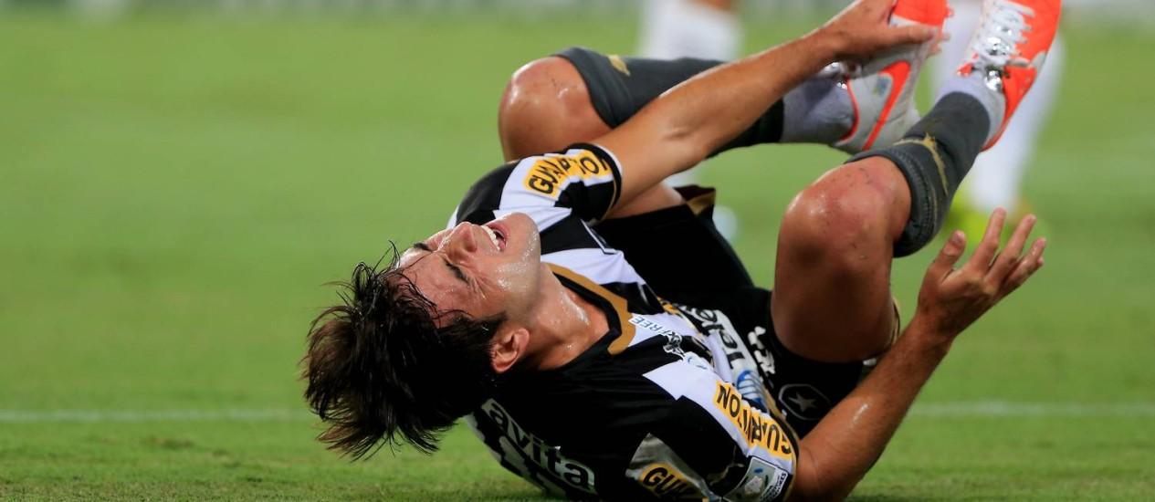 Lodeiro não vive boa fase no Botafogo Foto: Foto Marcelo Theobald/Extra/Agência O Globo