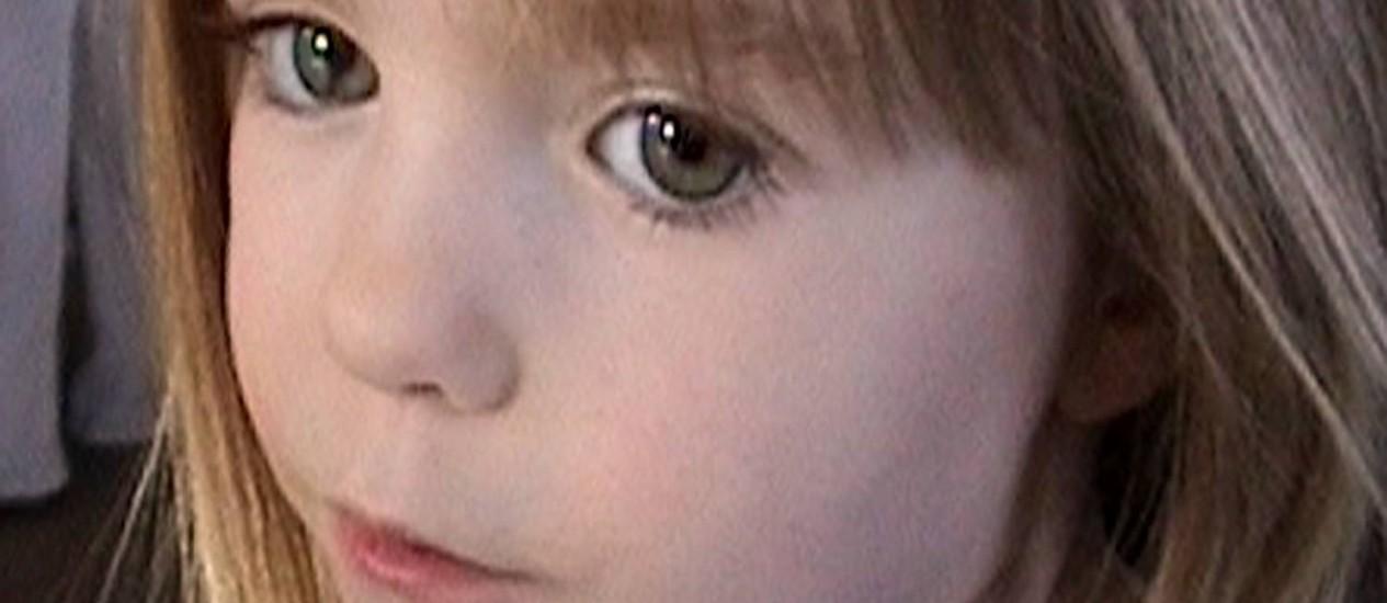 A menina Madeleine McCann desapareceu há sete anos em um resort no sul de Portugal Foto: AP