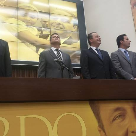 Em Minas, Campos afirma que apoio a Pimenta da Veiga ou a candidatura própria será decidido em convenção Foto: Ezequiel Fagendes / Agência O Globo