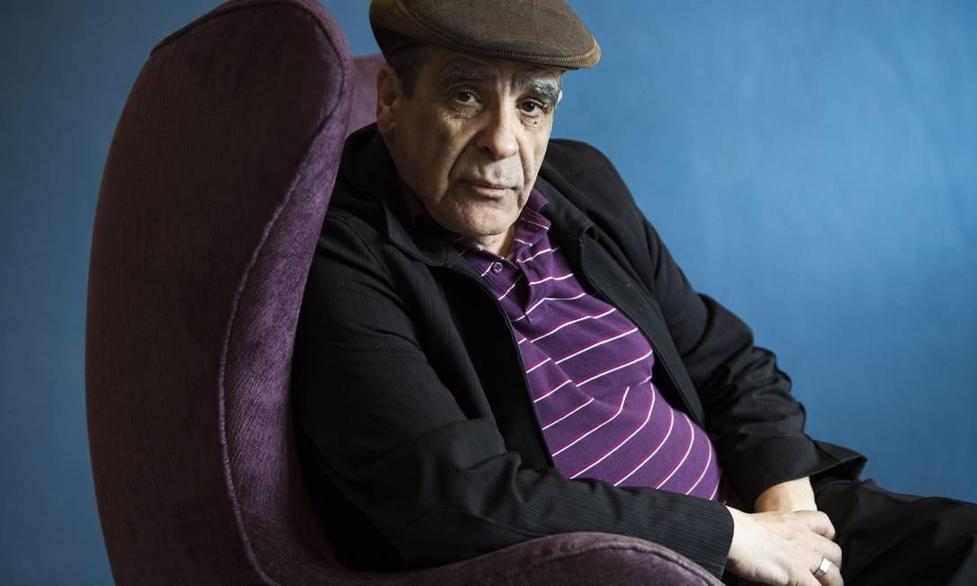Abdelkader Djemaï, escritor argelino Foto: Daniela Dacorso / Agência O Globo