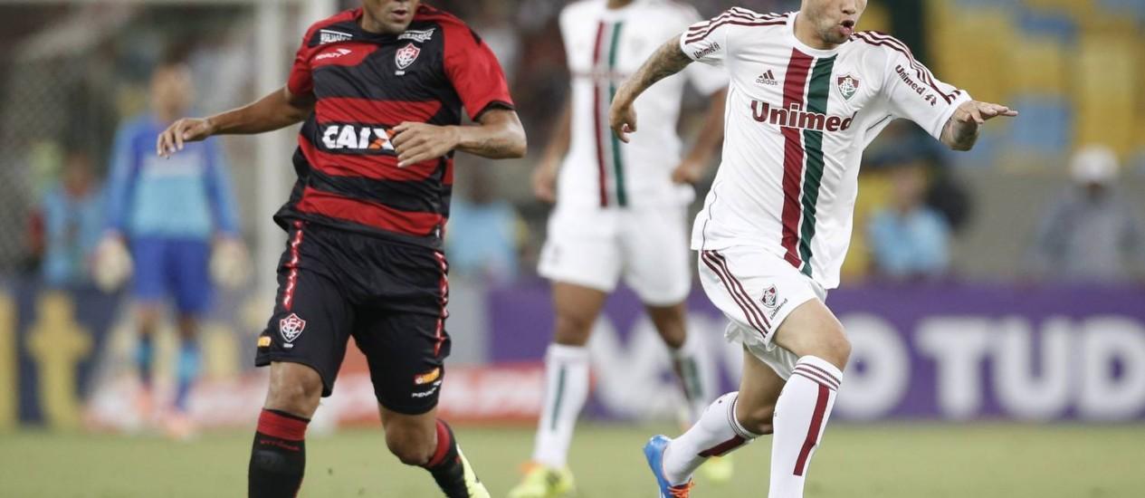 Bruno diz que o Fluminense está no caminho certo Foto: Guito Moreto / O Globo