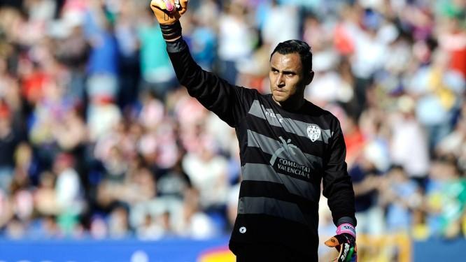Keylor Navas é destaque no Campeonato Espanhol Foto: Jose Jordan / AFP
