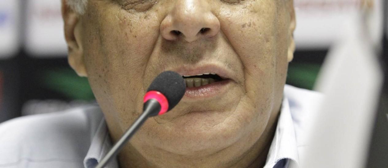 Dinamite: 'Não tenho dinheiro para pagar p... nenhuma' Foto: Ivo Gonzalez / Agência O Globo