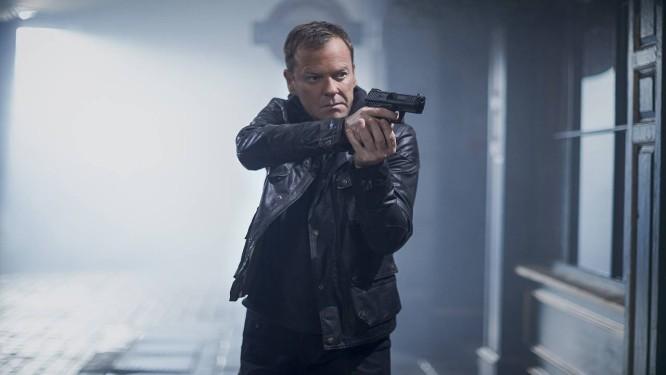 Kiefer Sutherland como Jack Bauer, de 24 Horas Foto: Divulgação / Divulgação
