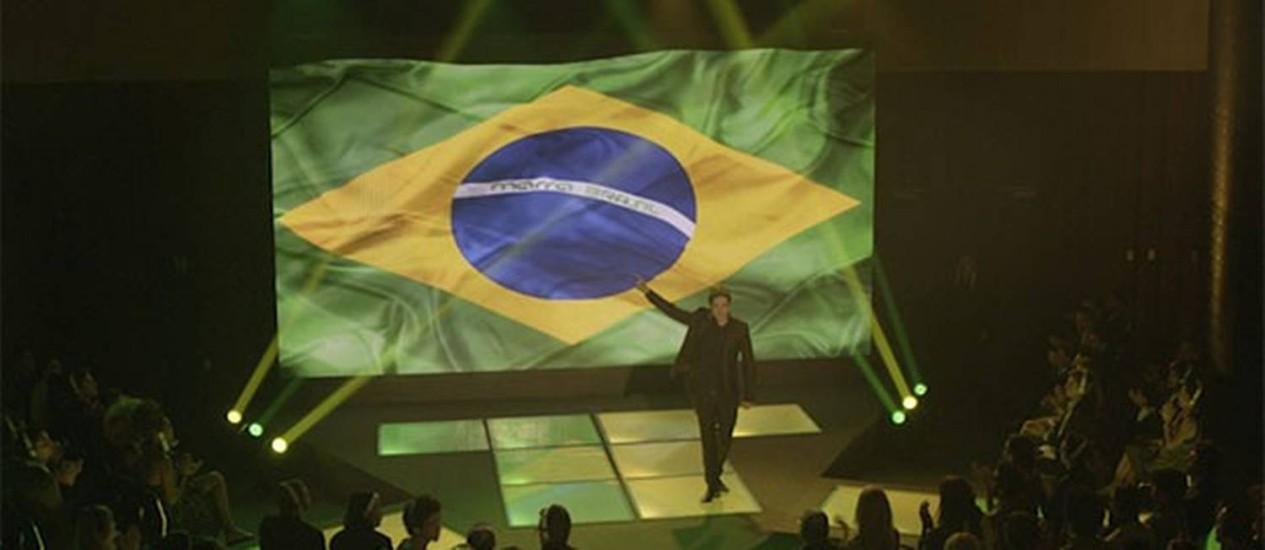 Jonas Marra anuncia que volta ao Brasil Foto: Reprodução/TV Globo