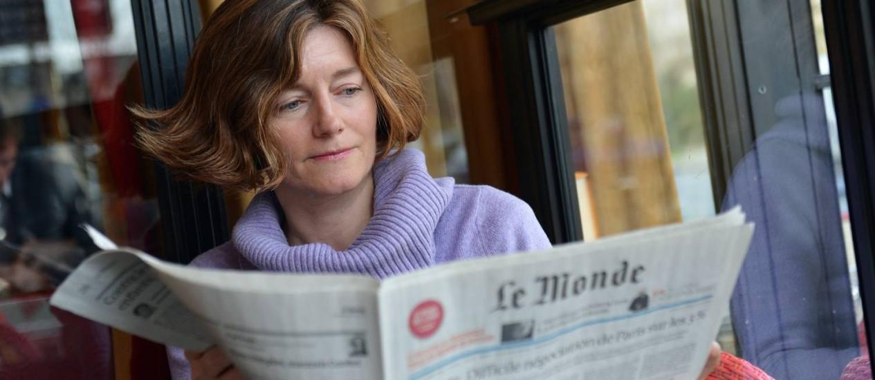 Crise de confiança entre redação e a editora, Natalie Nougayréde, motiva demissão em bloco Foto: AFP PHOTO/MIGUEL MEDINA