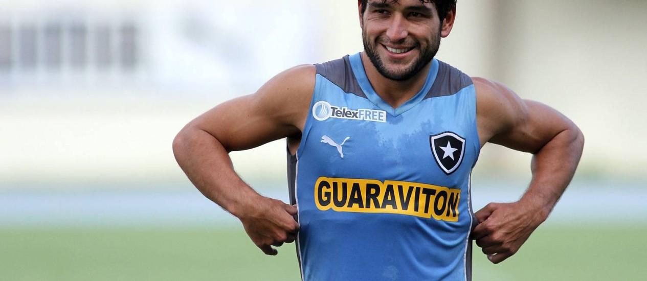 O uruguaio Lodeiro, do Botafogo, está na lista preliminar de convocados para a Copa Foto: Botafogo / Divulgação