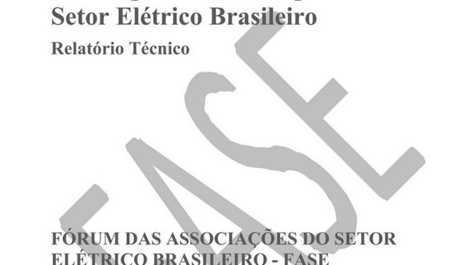 Documento contém diversas críticas à política do governo para o setor elétrico Foto: Reprodução